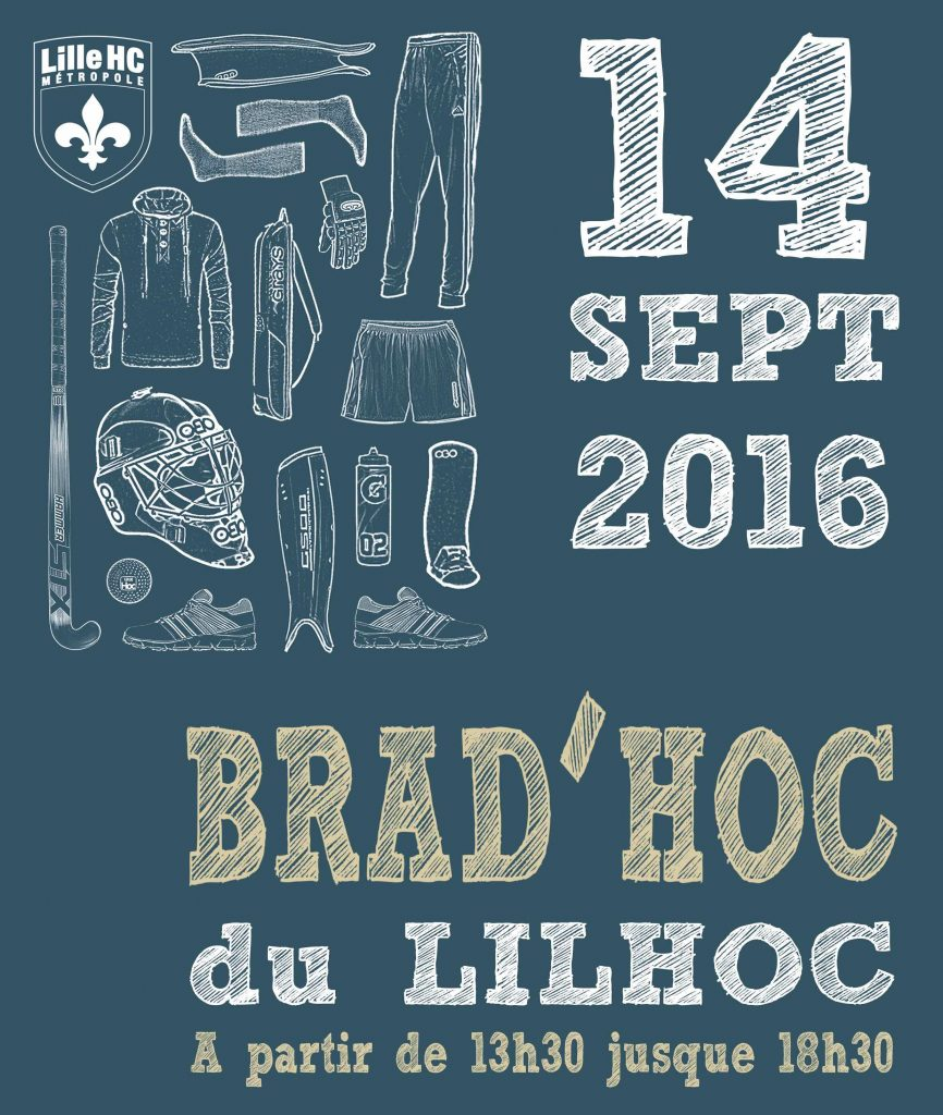 Le Lil'Hoc organise la 1ère édition de sa braderie.