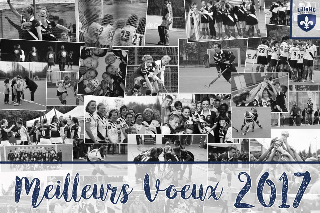 Meilleurs Voeux 2017 du Lille Métropole Hockey Club