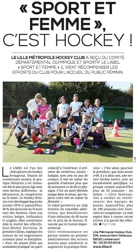 Sport et Femmes 2014