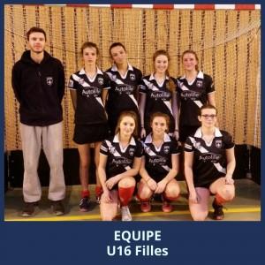 LilHoc-U16Filles-Saison 2015 2016